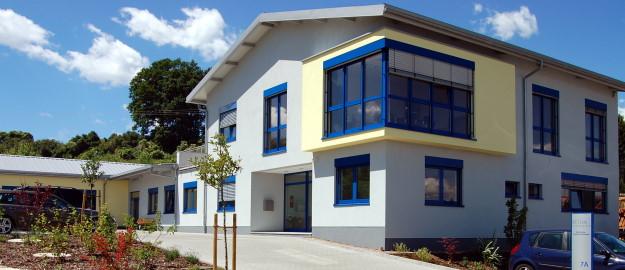Bild des STEHA-Elektronik Firmengebäudes